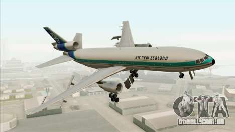 DC-10-30 Air New Zealand para GTA San Andreas