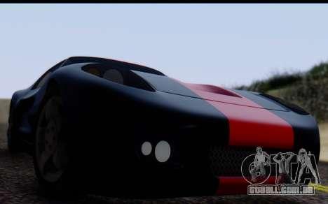 Bullet PFR v1.1 HD para GTA San Andreas vista direita