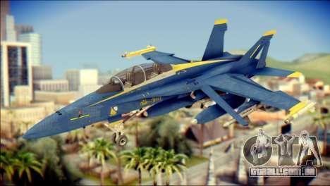 FA-18D Hornet NASA para GTA San Andreas