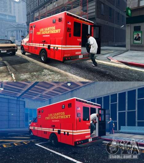 GTA 5 Ambulância v0.7.2 terceiro screenshot