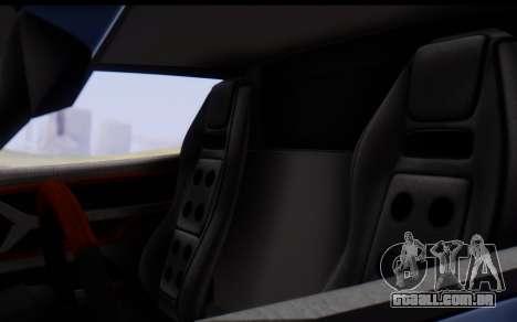 Bullet PFR v1.1 HD para GTA San Andreas vista inferior