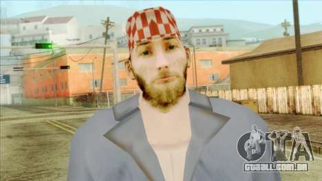 Mecânico barbudo para GTA San Andreas terceira tela