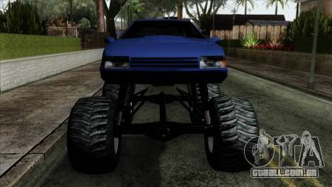 Monster Cadrona para GTA San Andreas vista traseira