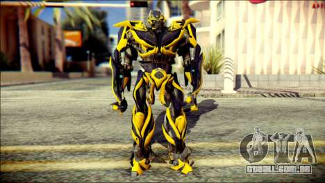 Bumblebee Skin from Transformers para GTA San Andreas