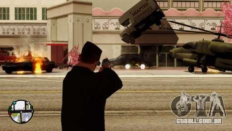 Transporte V2, em vez de balas para GTA San Andreas twelth tela