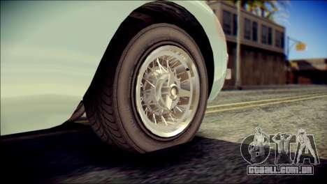 GTA 5 Dewbauchee JB 700 IVF para GTA San Andreas traseira esquerda vista