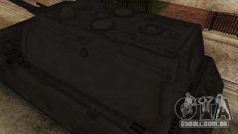 Panzerkampfwagen VIII Maus para GTA San Andreas vista direita