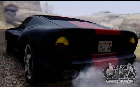 Bullet PFR v1.1 HD para GTA San Andreas vista interior