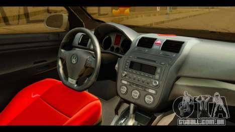 Volkswagen Bora para GTA San Andreas vista direita