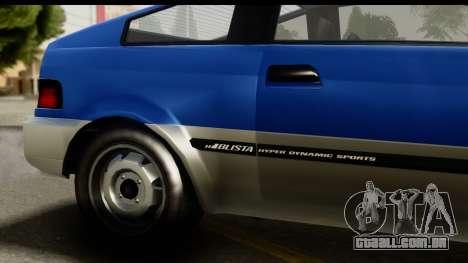 GTA 5 Dinka Blista Compact IVF para GTA San Andreas vista direita
