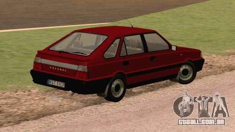 Daewoo-FSO Polonez Caro Plus ABC 1999 para GTA San Andreas traseira esquerda vista