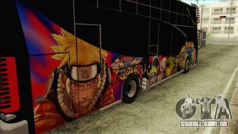 Bus Thailand para GTA San Andreas vista traseira
