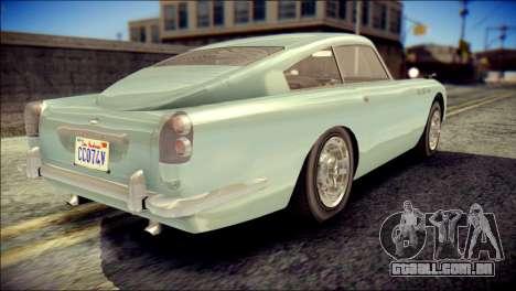 GTA 5 Dewbauchee JB 700 IVF para GTA San Andreas esquerda vista