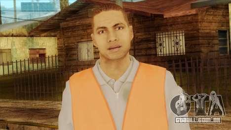 Takedown Redsabre NPC Shipworker v2 para GTA San Andreas terceira tela