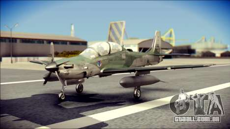 Embraer EMB-314 Super Tucano E para GTA San Andreas
