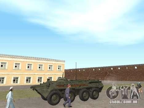 BTR 80 Frente para GTA San Andreas esquerda vista
