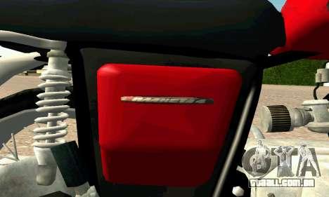 IZH Planeta-4 para vista lateral GTA San Andreas