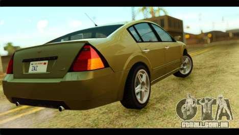 GTA 4 Pinnacle para GTA San Andreas esquerda vista