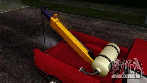 Peugeot 405 Pickup para GTA San Andreas vista traseira