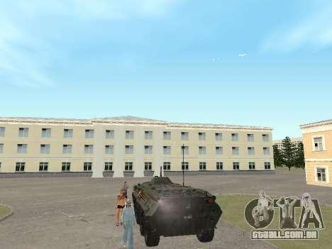 BTR 80 Frente para GTA San Andreas vista direita