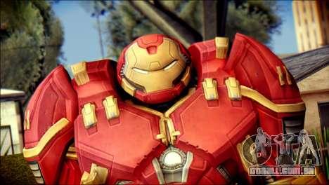 Hulkbuster Iron Man v1 para GTA San Andreas terceira tela