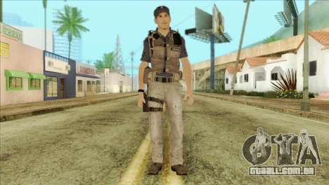 COD Advanced Warfare Jon Bernthal Security Guard para GTA San Andreas