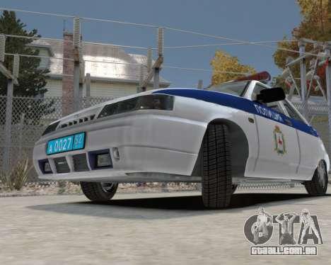 VAZ 2112 DPS para GTA 4 vista de volta