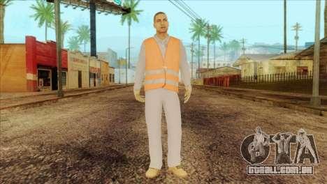 Takedown Redsabre NPC Shipworker v2 para GTA San Andreas