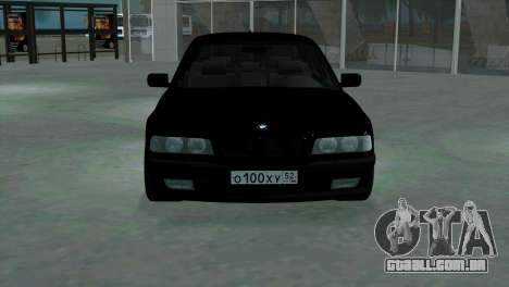 BMW 750i e38 para GTA San Andreas vista interior