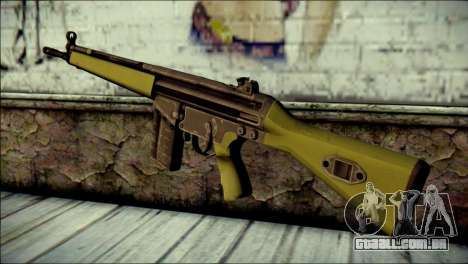 HK G3 Normal para GTA San Andreas segunda tela