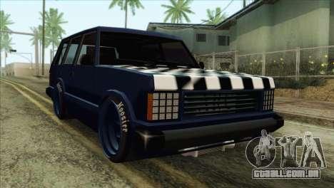 Huntley Street para GTA San Andreas
