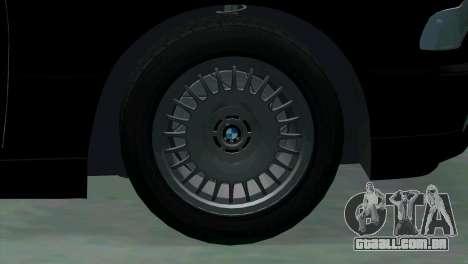 BMW 750i e38 para GTA San Andreas vista superior