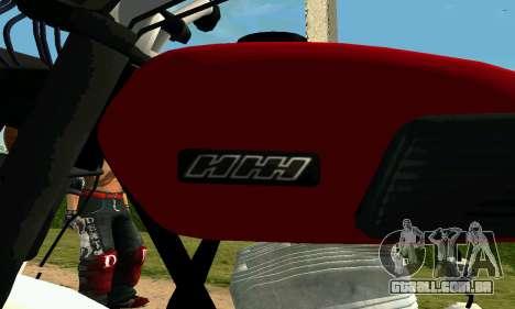 IZH Planeta-4 para GTA San Andreas vista traseira