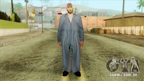 Mecânico barbudo para GTA San Andreas