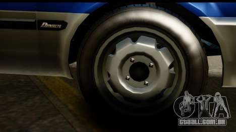 GTA 5 Dinka Blista Compact IVF para GTA San Andreas vista traseira