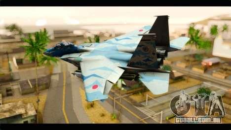 F-15E 303rd TFS Fighting Dragons para GTA San Andreas esquerda vista