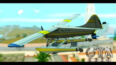 GTA 5 Sea Plane para GTA San Andreas esquerda vista