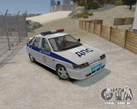 VAZ 2112 DPS para GTA 4 traseira esquerda vista