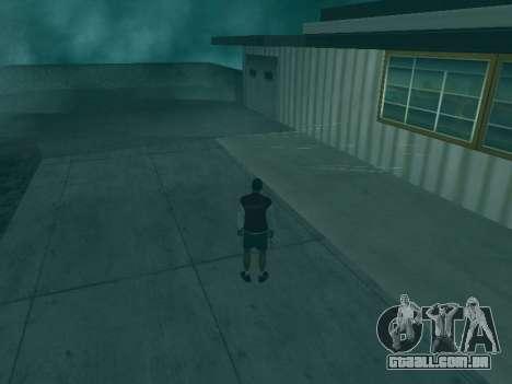 A trajetória das balas para GTA San Andreas segunda tela