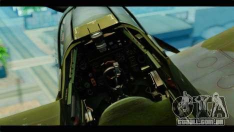 Supermarine Spitfire F MK XVI 318 SQ para GTA San Andreas vista direita