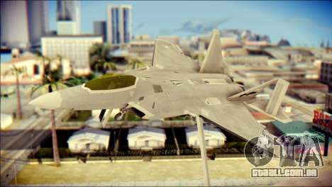 FA-18D Hornet Blue Angels para GTA San Andreas