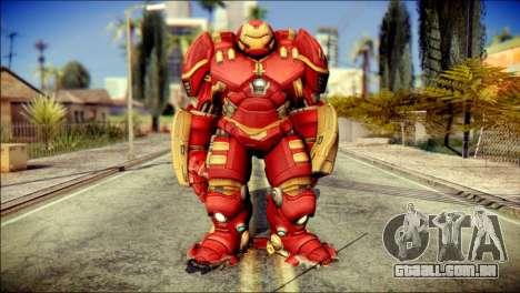 Hulkbuster Iron Man v1 para GTA San Andreas