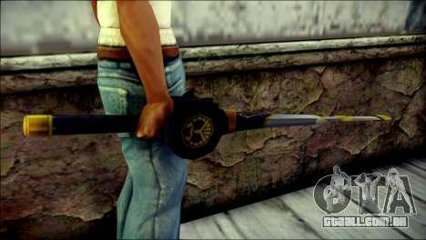 Saber Dice Kamen Rider Beast para GTA San Andreas terceira tela