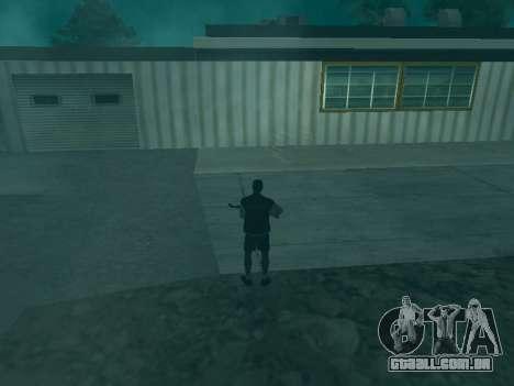A trajetória das balas para GTA San Andreas terceira tela