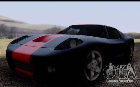 Bullet PFR v1.1 HD para GTA San Andreas esquerda vista
