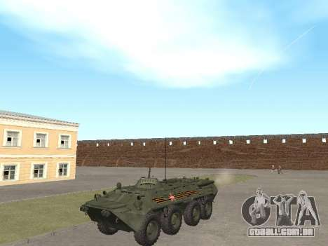 BTR 80 Frente para GTA San Andreas