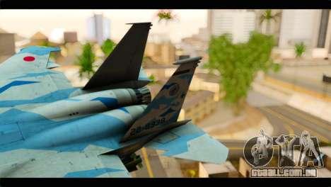 F-15E 303rd TFS Fighting Dragons para GTA San Andreas traseira esquerda vista