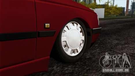 Peugeot 405 Pickup para GTA San Andreas traseira esquerda vista