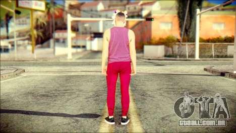 Skin Kawaiis GTA V Online v1 para GTA San Andreas segunda tela