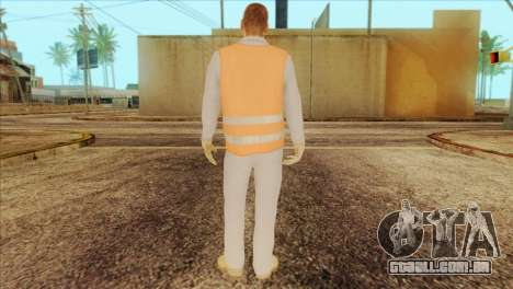 Takedown Redsabre NPC Shipworker v2 para GTA San Andreas segunda tela